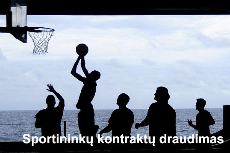 """Sportininkų kontraktų draudimas. """"Colemont"""" – Lietuvos krepšininkų federacijos partneris"""