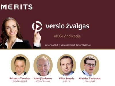 "MERITS konferencija ""Verslo žvalgas"" (#05): ""Vindikacija"""