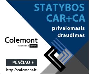 Statybos (CAR+CA) privalomasis draudimas