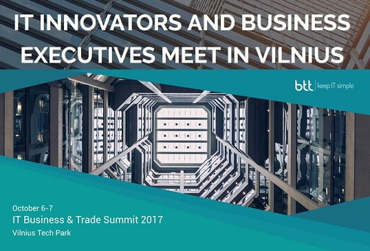 IT Business & Trade Summit 2017 | Vilnius, Lithuania